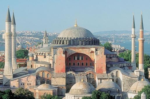 Собор Святой Софии в Стамбуле (Турция)